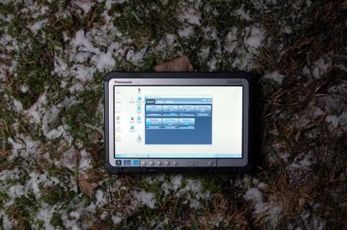 CF-D1 - защищенный планшет